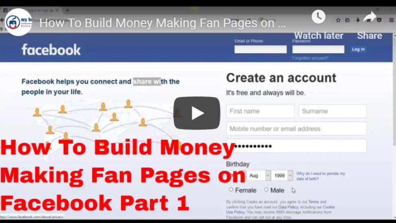 How to create a facebook page for a school